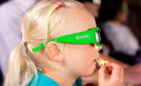 Dolby 3D kids glasses Kacamata 3D Khusus untuk Anak Anak dari Dolby Laboratories   aksesoris home gadget