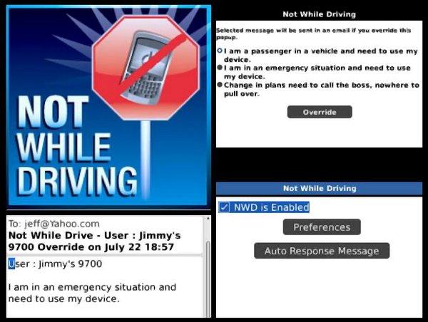Not While Driving Empat Aplikasi BlackBerry untuk Berkendara Lebih Aman aplikasi