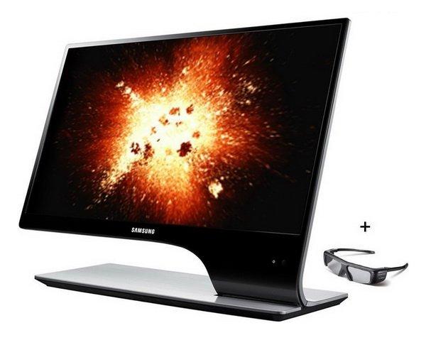 035 Samsung SyncMaster S27A950D: Monitor 3D Berdesain Modern dan Futuristik aksesoris komputer komputer