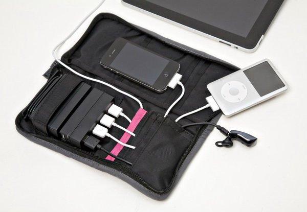 AviiQ AviiQ Portable Charging Station: Charger Portabel yang Bisa Mengisi Ulang Baterai 4 Gadget Sekaligus aksesoris gadget