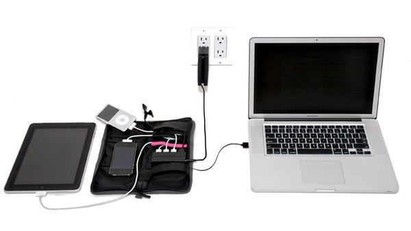 AviiQ01 AviiQ Portable Charging Station: Charger Portabel yang Bisa Mengisi Ulang Baterai 4 Gadget Sekaligus aksesoris gadget