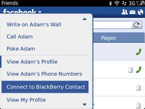 Koneksikan Facebook dengan Blackberry Contacts Tips : Koneksikan Facebook, Twitter dan Blackberry Messenger ke Blackberry Contact tips