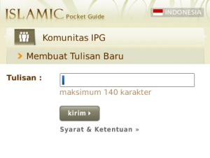 Islamic Pocket Guide 1 7 Aplikasi Blackberry Gratis untuk Mengingatkan Waktu Sholat blackberry aplikasi