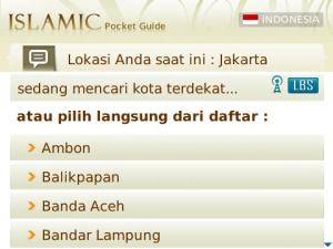 Islamic Pocket Guide 5 7 Aplikasi Blackberry Gratis untuk Mengingatkan Waktu Sholat blackberry aplikasi