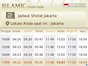 Islamic Pocket Guide 6 7 Aplikasi Blackberry Gratis untuk Mengingatkan Waktu Sholat blackberry aplikasi