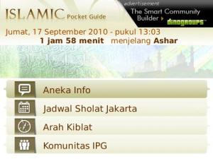 Islamic Pocket Guide 7 7 Aplikasi Blackberry Gratis untuk Mengingatkan Waktu Sholat blackberry aplikasi