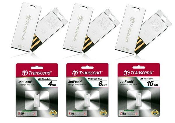 T3S101 Transcend JetFlash T3S: Flashdisk Perak yang Tangguh aksesoris komputer komputer