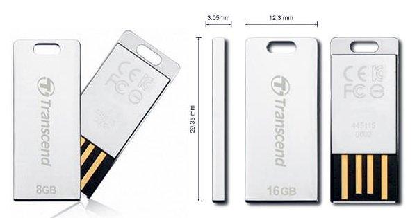 T3S102 Transcend JetFlash T3S: Flashdisk Perak yang Tangguh aksesoris komputer komputer