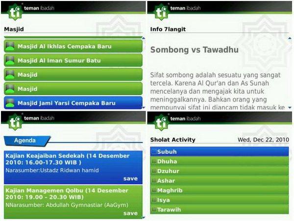TI02 4 Aplikasi Ramadhan Pilihan untuk Pengguna BlackBerry news blackberry aplikasi