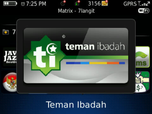 Teman Ibadah 1 7 Aplikasi Blackberry Gratis untuk Mengingatkan Waktu Sholat blackberry aplikasi