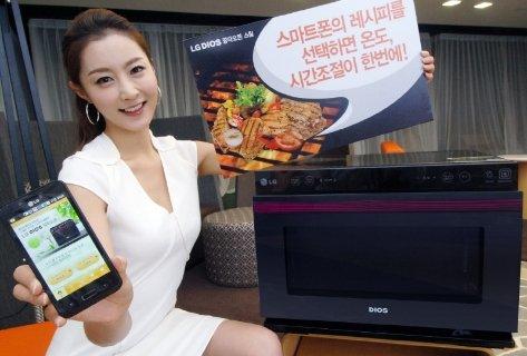 lg microwave Oven Microwave LG: Bisa Dikendalikan dengan Smartphone Android home gadget