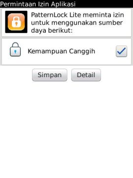 screenshot02 Tips: Amankan BlackBerry dengan Kunci Pola Layar tips guide