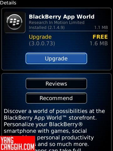 BBAW01 BlackBerry App World 3.0: Lebih Segar dan Informatif news blackberry aplikasi