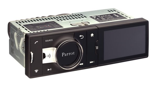 Parrot06 Parrot Asteroid: Sistem Audio Mobil Berbasis Android audio video