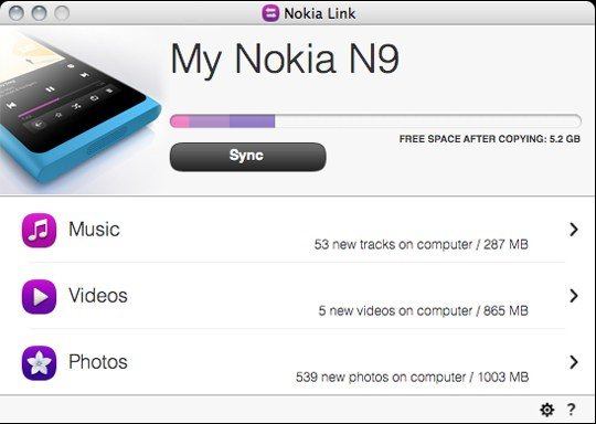 Nokia Link Nokia Link, Aplikasi Ringan Penghubung Nokia N9 dan Komputer symbian news aplikasi