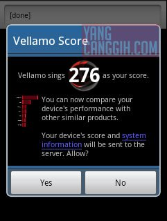 samsung galaxy y benchmark velamo Review: Samsung Galaxy Y CDMA (SCH i509) smartphone review mobile gadget