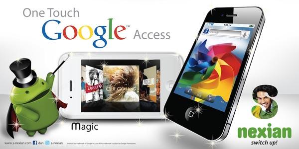 Nexian Magic Hp Android Lokal Dengan Fitur One Touch Google Access Rekomendasi 12 Ponsel Sambut Tahun Baru 2012 mobile gadget