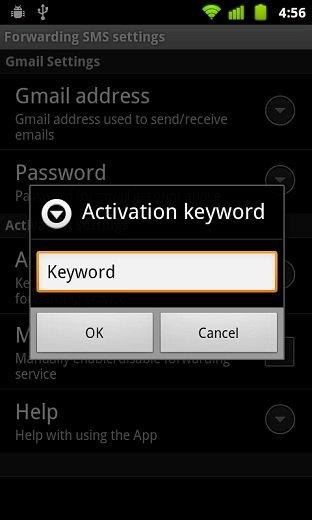 SMS2Gmail 3 Tips : 3 Langkah Forward Misscall dan SMS dari Android ke Gmail aplikasi android