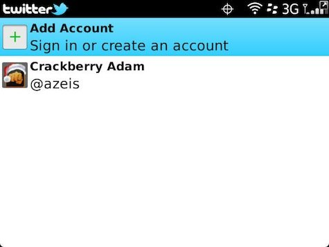 Setting Multiple Account Twitter for Blackberry 3 Tips : Setting Multiple Account di Twitter for Blackberry tips blackberry aplikasi