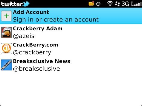 Setting Multiple Account Twitter for Blackberry 4 Tips : Setting Multiple Account di Twitter for Blackberry tips blackberry aplikasi