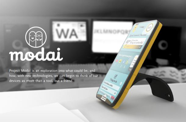 modai Modai: Konsep Smartphone yang Lebih Manusiawi mobile gadget