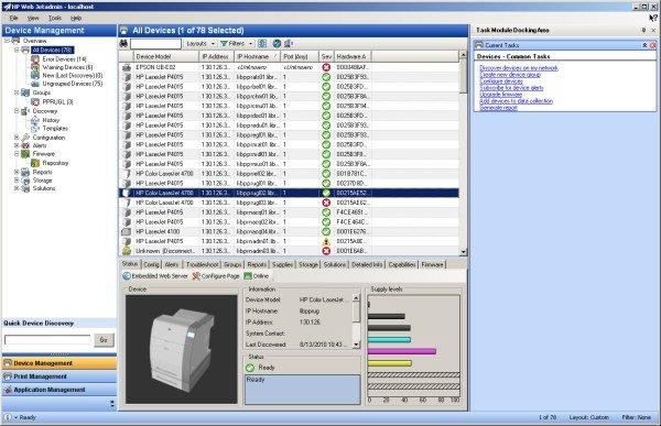 Web Jet Admin Media Workshop Printer HP: Masa Depan Teknologi Imaging Printing liputan acara lokal