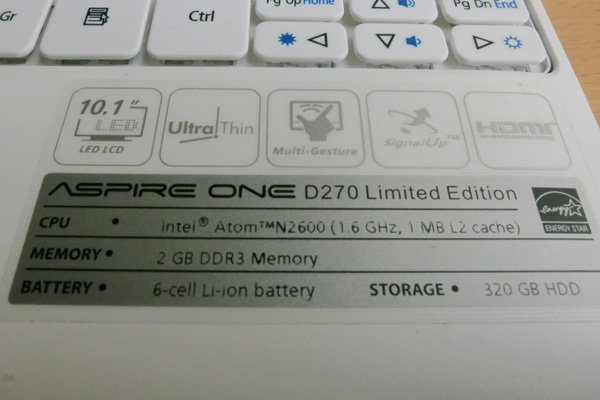 Review Acer Aspire One D270 Balloon Carnival Special