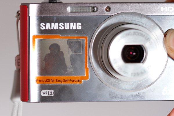 Samsung DV300F layar depan Review: Samsung DV300F  review kamera saku 5 foto video