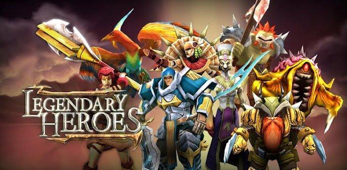 Hasil gambar untuk gambar game legendary heroes