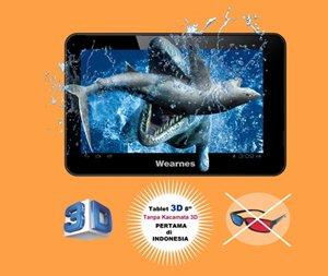 Wearnes LitePAD LP 811 Wearnes LitePAD LP 811: Tablet Berlayar 3D Tanpa Kaca mata Khusus tablet pc news komputer