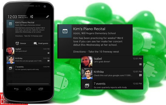 jb Mengenal Lebih Jauh Si Manis Android  4.1 Jelly Bean news android