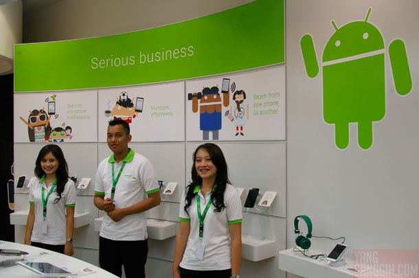 AndroidNation Serious Bussiness AndroidNation: Experience Zone Android Pertama di Dunia liputan acara lokal