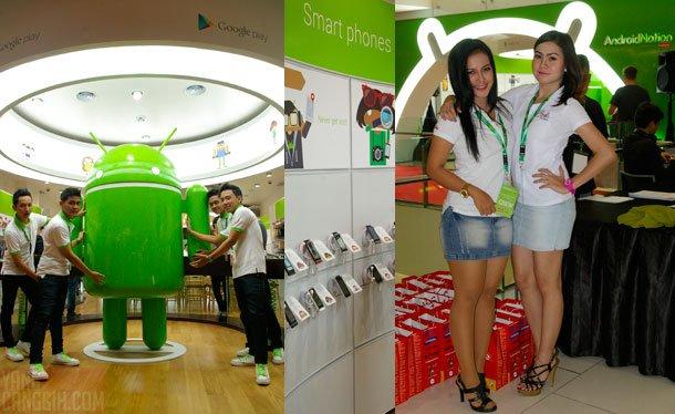 AndroidNationCrews AndroidNation: Experience Zone Android Pertama di Dunia liputan acara lokal
