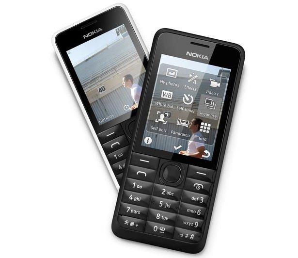 Nokia 301 [MWC 2013] Nokia 301: Ponsel Dual SIM dengan Daya Tahan Baterai 39 Hari ponsel news mobile gadget