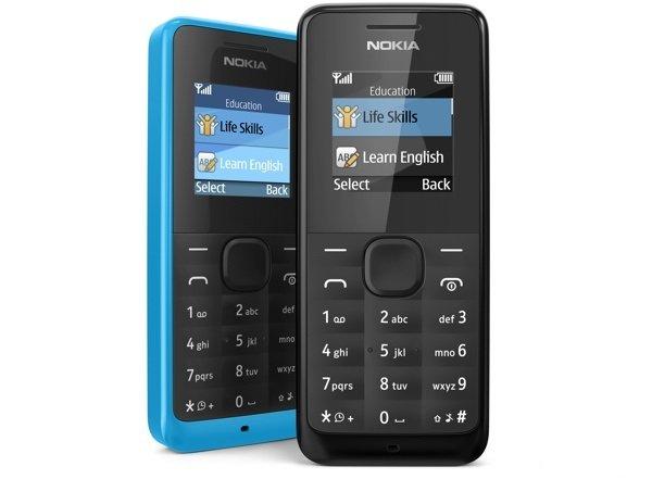 nokia [MWC 2013] Nokia 105: Ponsel Kelas Bawah, Baterai Tahan Lama ponsel news mobile gadget
