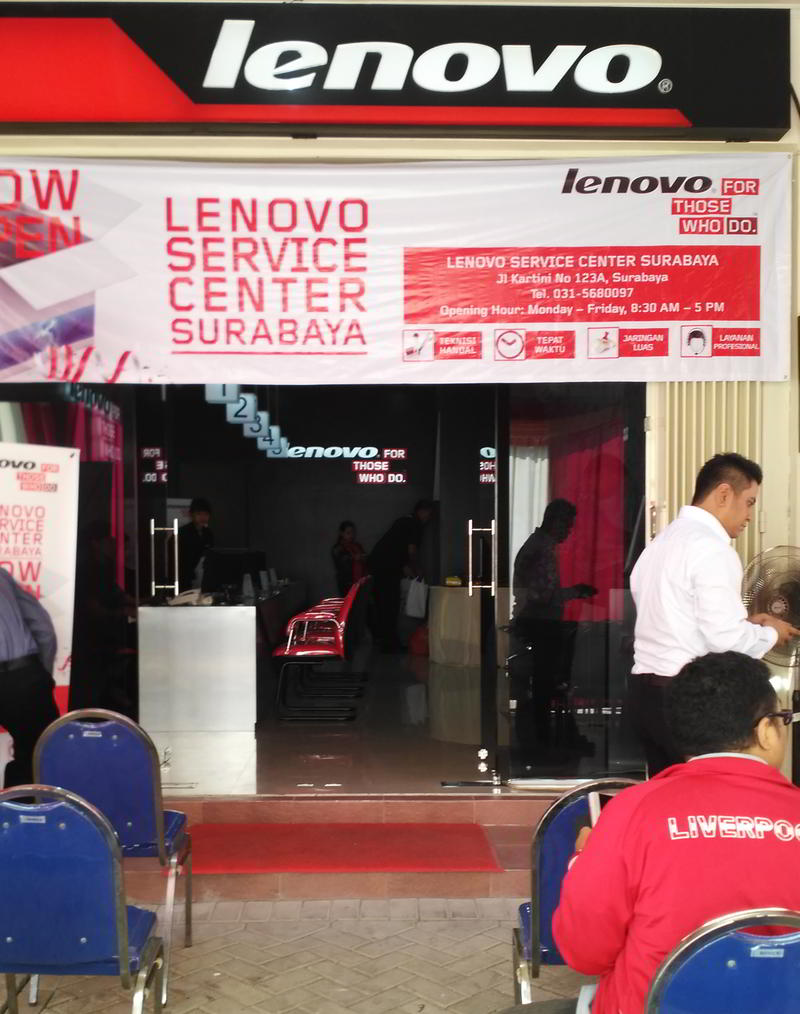 Lenovo Service Centre Resmi Dibuka Di Surabaya Yangcanggih Com