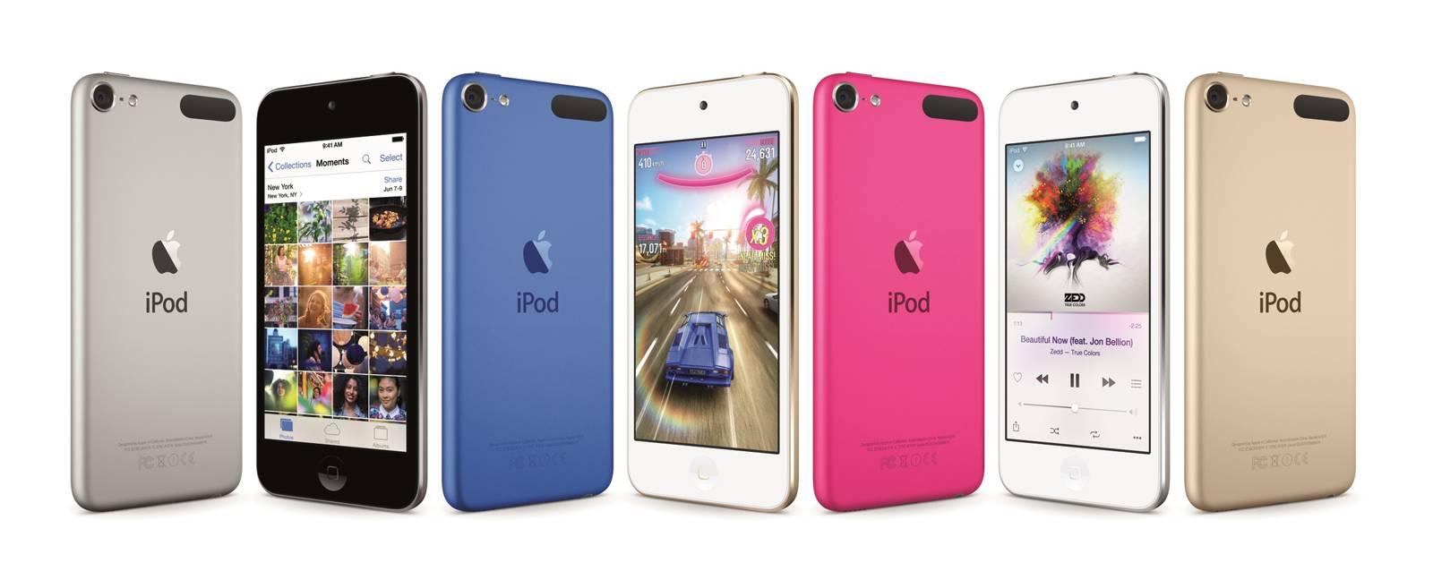 Apple Umumkan iPod Touch 2015 dengan Spesifikasi Mirip iPhone 6 ...