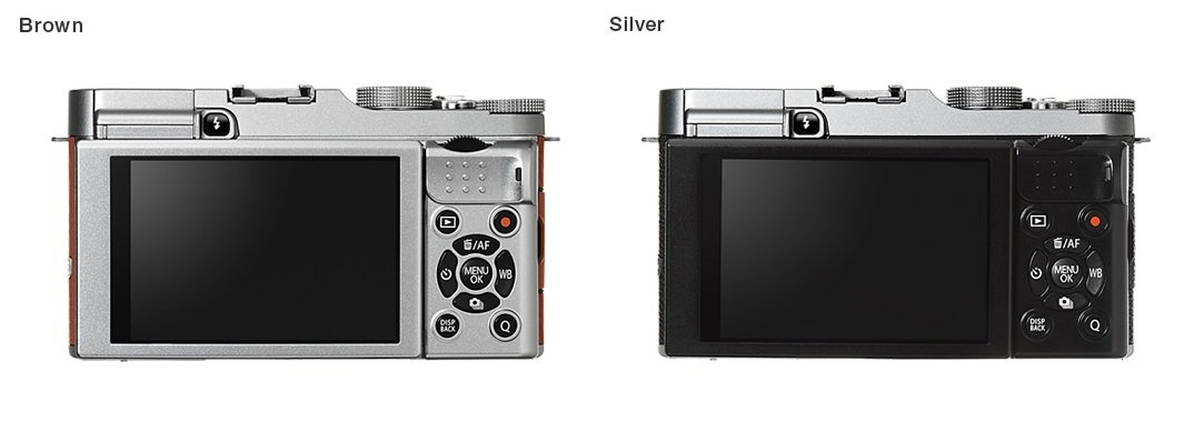 Fujifilm X-A2 back