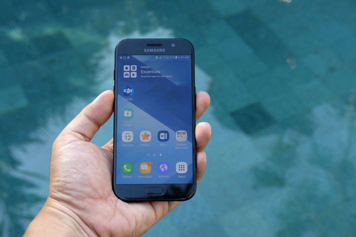 tracker application SamsungGalaxy A5