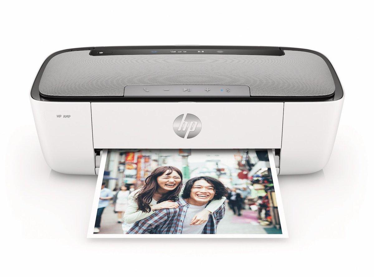 HP AMP 125: Printer Sekaligus Bluetooth Speaker