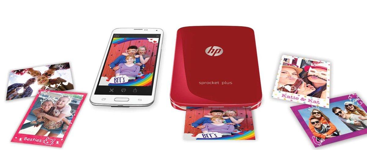 HP Sprocket Plus: Ukuran Cetakan Foto Kini Lebih Besar