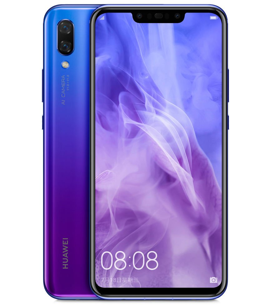Huawei Nova 3: Smartphone 4 Kamera dengan Kirin 970 dan RAM 6 GB