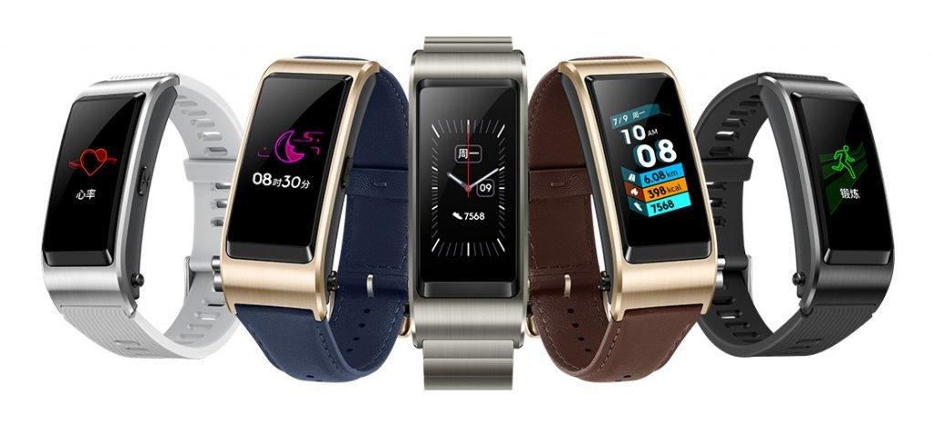 Huawei TalkBand B5: TalkBand Layar Sentuh dan Dukungan Noise Reduction
