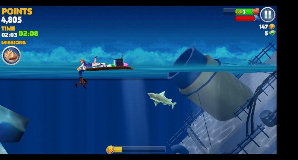 Hungry Shark Evolution, Game Hiu Lapar Untuk Penghilang Stress