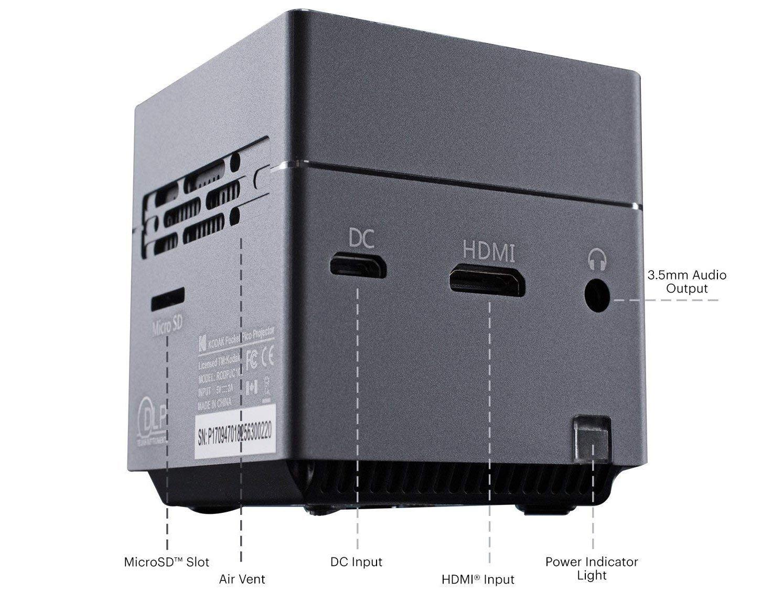 Kodak Pocket Pico Projector: Proyektor Seukuran Telapak Tangan