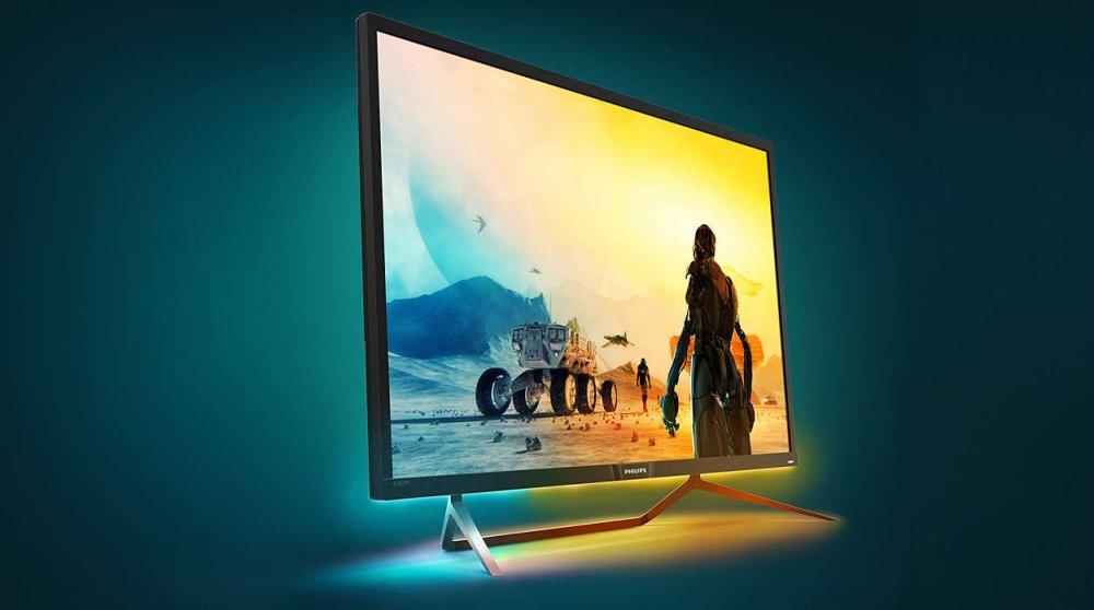 Philips Momentum 436M6VBPAB, Monitor Gaming Premium 43″ 4K Dengan HDR