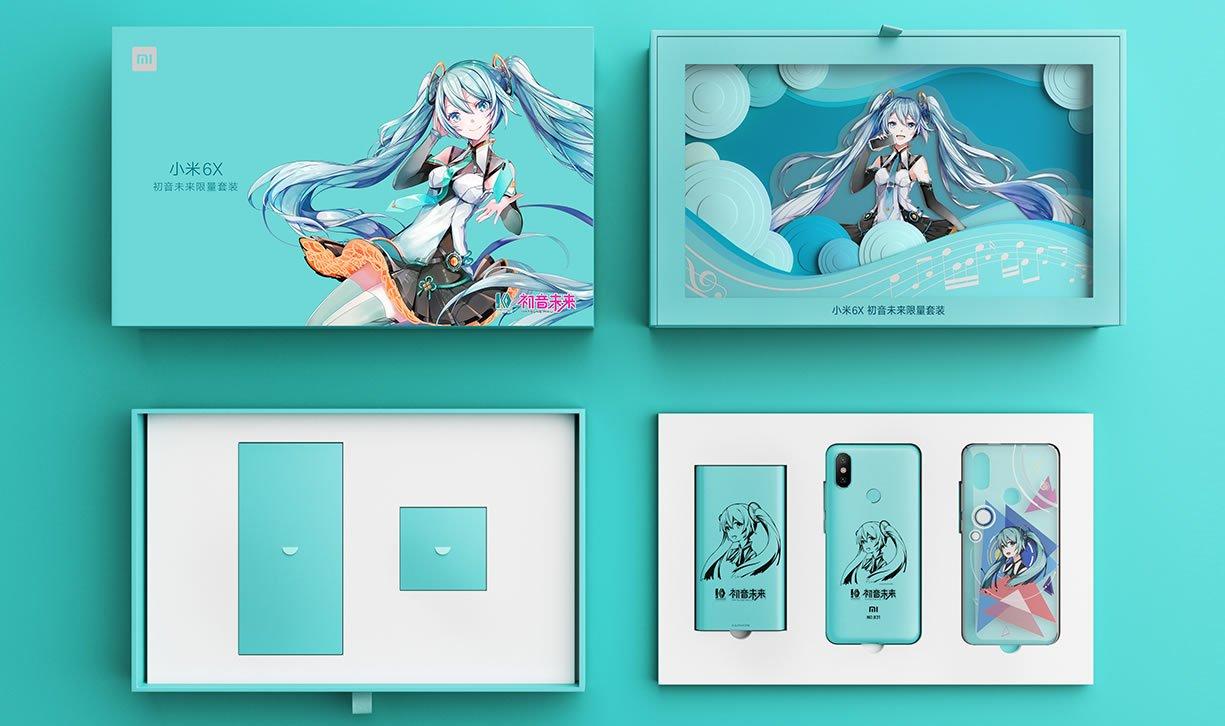 Xiaomi Mi 6X Hatsune Miku Edition: Dijual Terbatas Hanya 5000 Unit