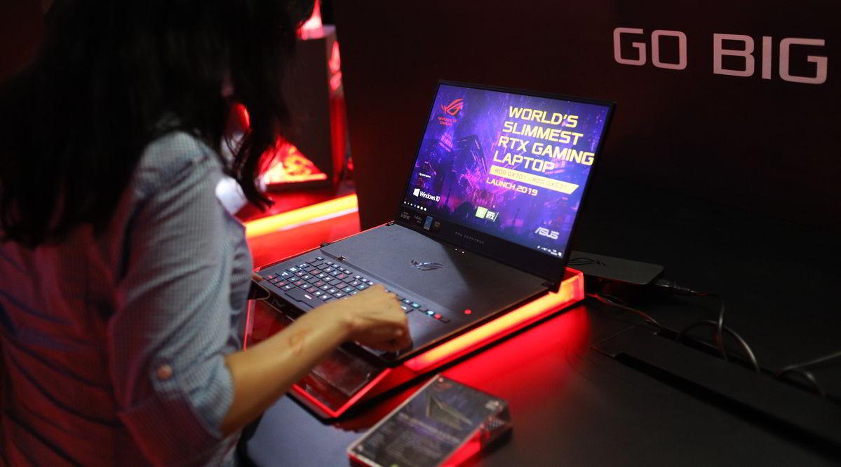 Asus Perkenalkan ROG Zephyrus S GX531, Laptop Gaming RTX Tertipis di Dunia