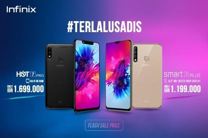 Dijual Satu Jutaan Rupiah, Infinix Resmikan Kehadiran Smart 3 Plus dan Hot 7 Pro 18 harga, infinix, infinix Hot 7 Pro, infinix Smart 3 Plus, spesifikasi