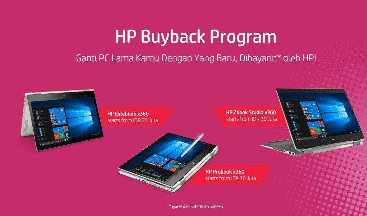 HP Buyback Program: Penawaran Menarik bagi Pelaku Bisnis yang Butuh Peremajaan PC dan Laptop 17 buyback program, harga, HP, HP EliteBook x360, hp probook x360, HP ZBook Studio x360, spesifikasi, trade in